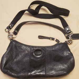 COACH #F15141 Patent Leather Shoulder /Crossbody